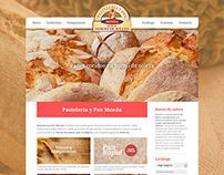 PASTELERÍA Y PAN DE MONDA · Diseño Web / Editorial