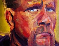 Portrait of Michael Cudlitz as 'Abraham Ford'
