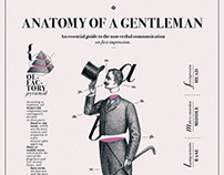 Anatomy of a Gentleman // Poster