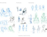 Applecalypse Character Development