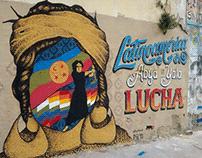 Latinoamerica lucha! / Streetart / Mural / Buenos Aires