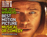 Golden Globe Winners 2016 | Best Motion Picture - Music