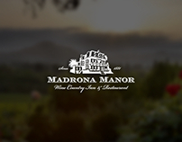 Madrona Manor Website Design