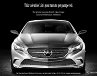 Mercedes Benz newspaper ad