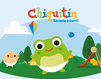 Chiquitín Children School new Look&Feel