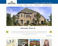 Landom Homes redesign