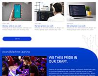the D. - web design