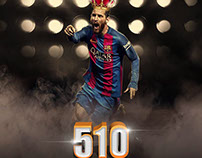 Lionel Messi - 510 Goals With Barcelona