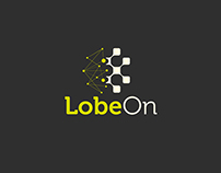 LobeOn logo and business card proposal