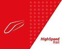 National High Speed Rail Corporation - Logo & Branding