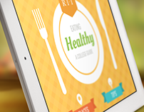 Eating Healthy iBook Concept