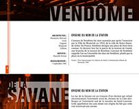 Brochure Métro de Montréal - Projet Édition H2013