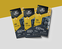 3K OTOMOTİV Broşür Tasarımı