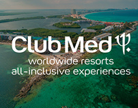 Club Med Print Work