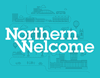 Northern Welcome | Refugee Charity Branding & Website
