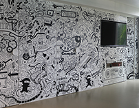 Cutawayy Films Office Wall Murals
