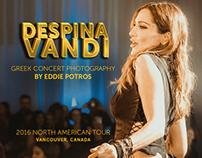 Despina Vandi Greek Concert Photography