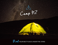 Camp NZ - Travel App