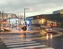 A Rainy Day (Wet Street)