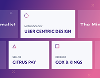 UX Lead | Featured Projects | The Minimalist