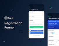 Prezi Registration Funnel