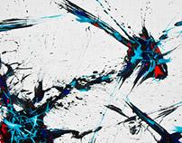 Tear Lines - paintings 2013/14