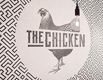 the chicken logo branding restaurant