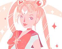 Sailor Moon - Ilustración