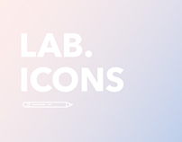 Lab and creative icons