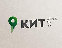 Рестайлинг логотипа для агентства недвижимости КИТ