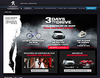 3 Days to Kill - Facebook contest for Peugeot