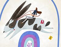 Jumping Rabbit Birthday Card Passes the Test
