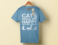 Cat T-Shirt Designs