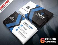 Free Business Cards Templates PSD Bundle
