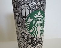 Starbucks white cup contest in the middle east