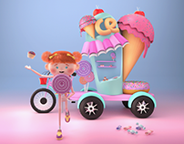 Funky 3D Characters