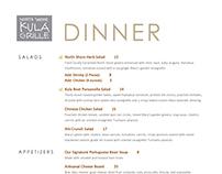 Kula Grille & Pa'akai Menus/ Promotions