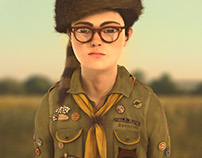 Moonrise Kingdom - Khaki scout Sam Shakusky