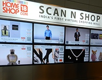 Scan N Shop - India's first virtual shopping wall