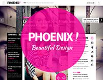 Phoenix - HTML Magazine Theme