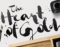 The Heart of Soul • New Brush Typeface