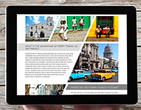 Blog design, Florida-Cuba ferry services