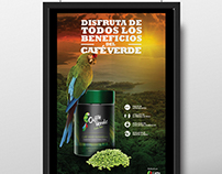 Caffté Green Coffee -  Poster