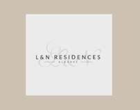 L&N residences Logo design