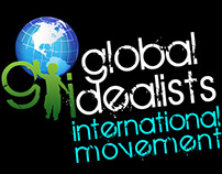 Global Idealists logo & Web Design
