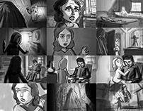 Klinger's Diving Suit - storyboards for a short film