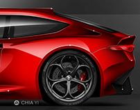 Alfa Romeo GTV6 concept
