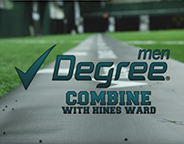 Degree for Men - Hines Ward Combine