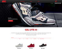 ASICS Store Redesign