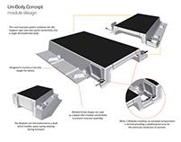 Uni-Body Solar Panel